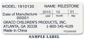 2016 Milestone sample DOM label