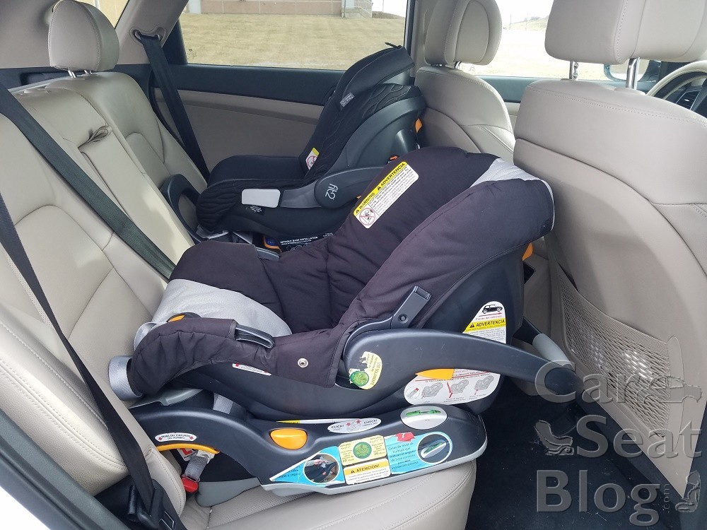 In The Stage 1 Infant Setting Fit2 Is Very Similar To KeyFit 30 Way It Fits Vehicle 2 Toddler You Can See That