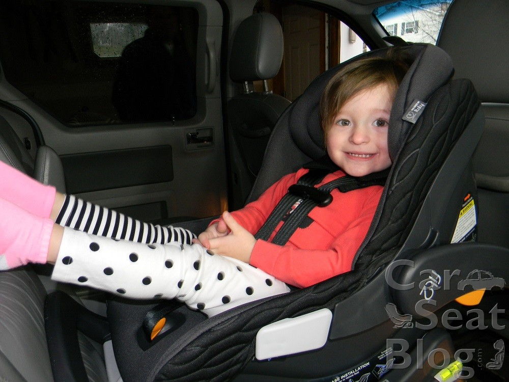 2 Year Old In Chicco Fit2
