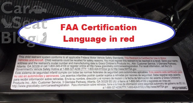 The MySize Size4Me And Fit4Me Are All FAA Approved For Air Travel There Is A Sticker Label On Back Of Seat With Certification Language