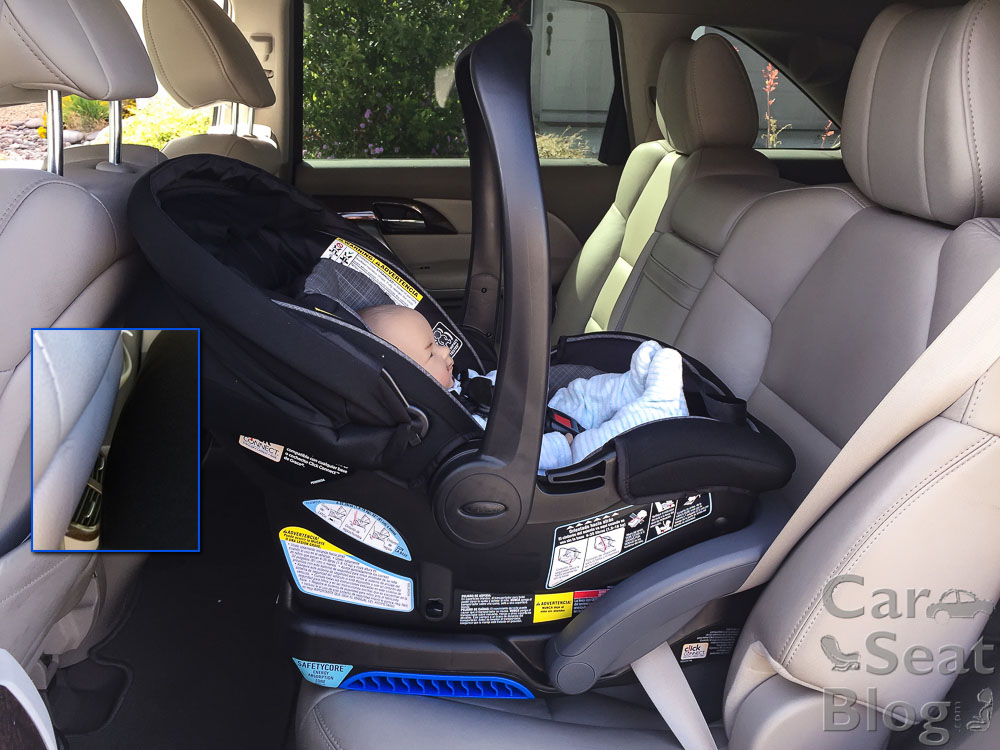 However Graco DOES Allow The Carrier Only To Be Installed Without Base Using Ford Motor Company Inflatable Seat Belts Follow Your Instruction Manual