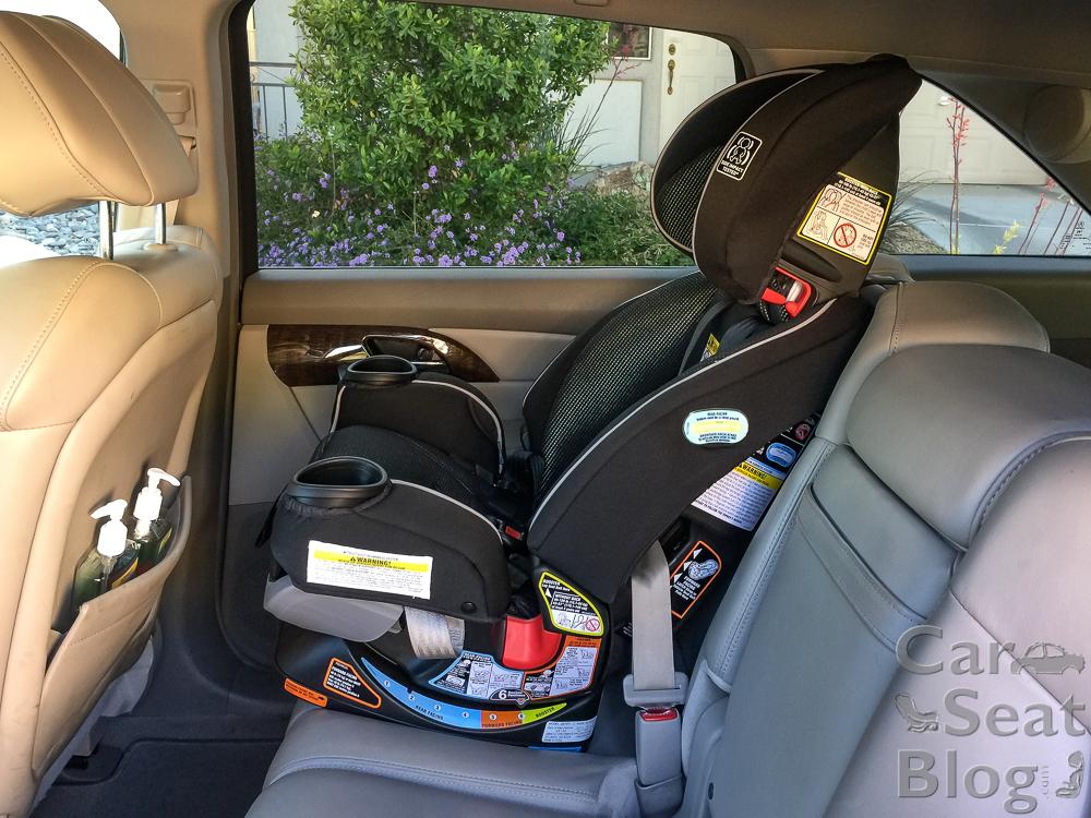 Graco Car Seat Strap Installation