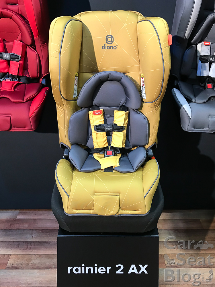 Diono Rainier 2 AX Convertible Child Safety Car Seat Booster New 2018 Black