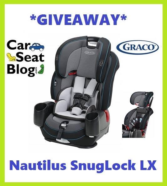 Graco Nautilus Snuglock Lx Giveaway, Car Seat Giveaway 2018