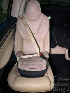 seat belt extender booster Tesla Model X